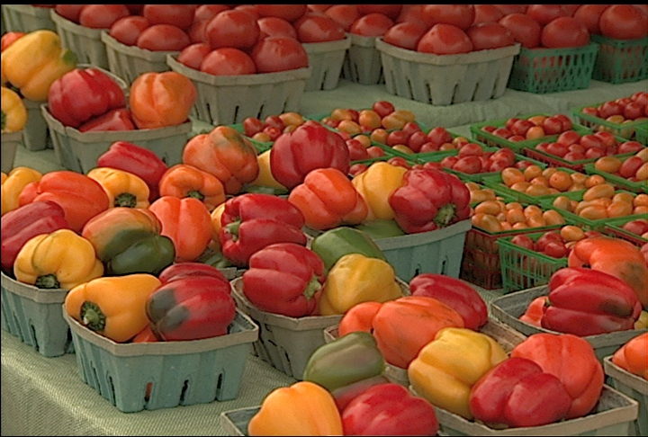 Farmers markets offer fresh local produce