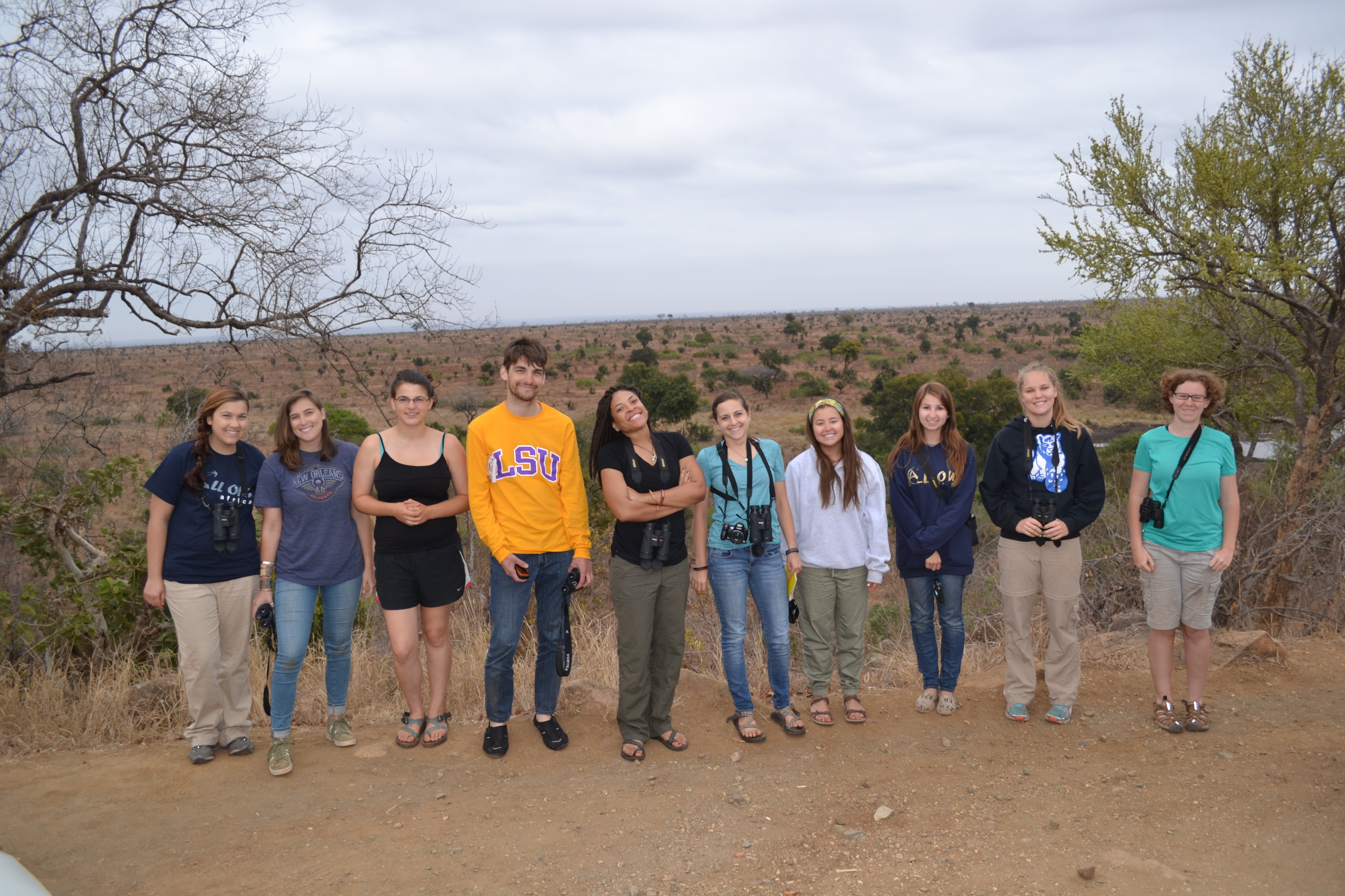 Summer in Swaziland puts LSU students up close with African wildlife
