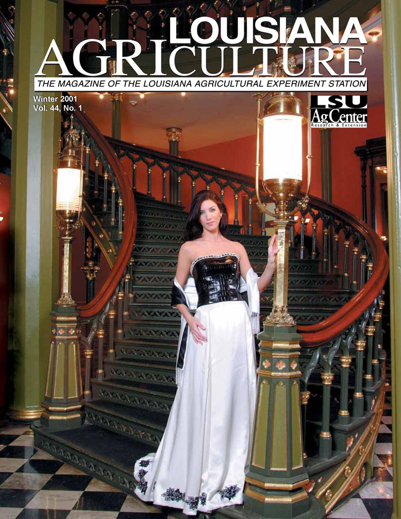 Louisiana Agriculture Magazine Winter 2001