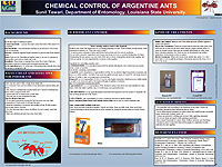 Chemical Control of Argentine Ants