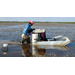 'Push boats' help crawfish farmer cut costs