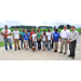 Summer college researchers visit LSU AgCenter Rice Research Station