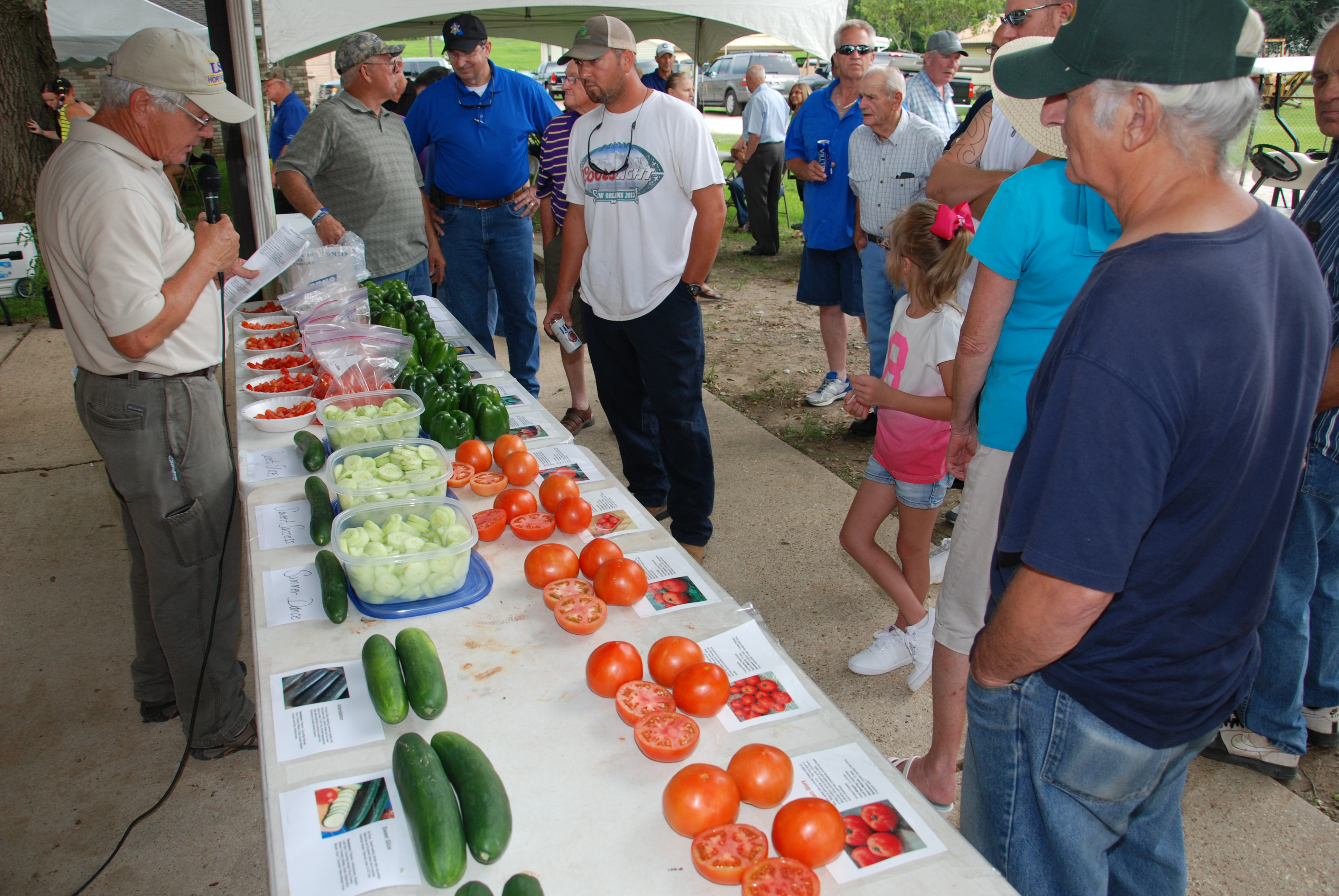 LSU AgCenter workshops link growers with markets
