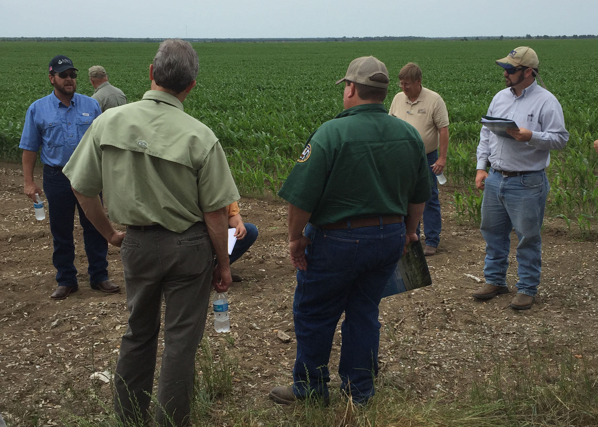 LSU AgCenter, NRCS conduct joint water project in Caddo Parish
