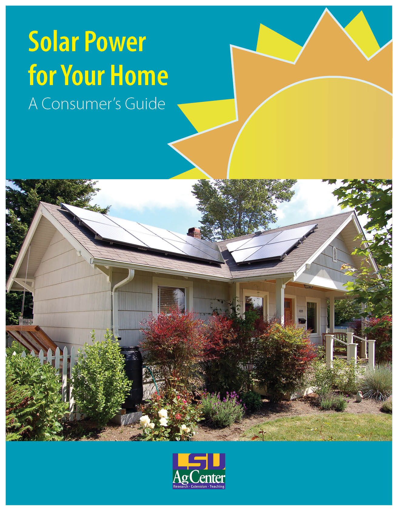 New free guide to solar power for your home now available