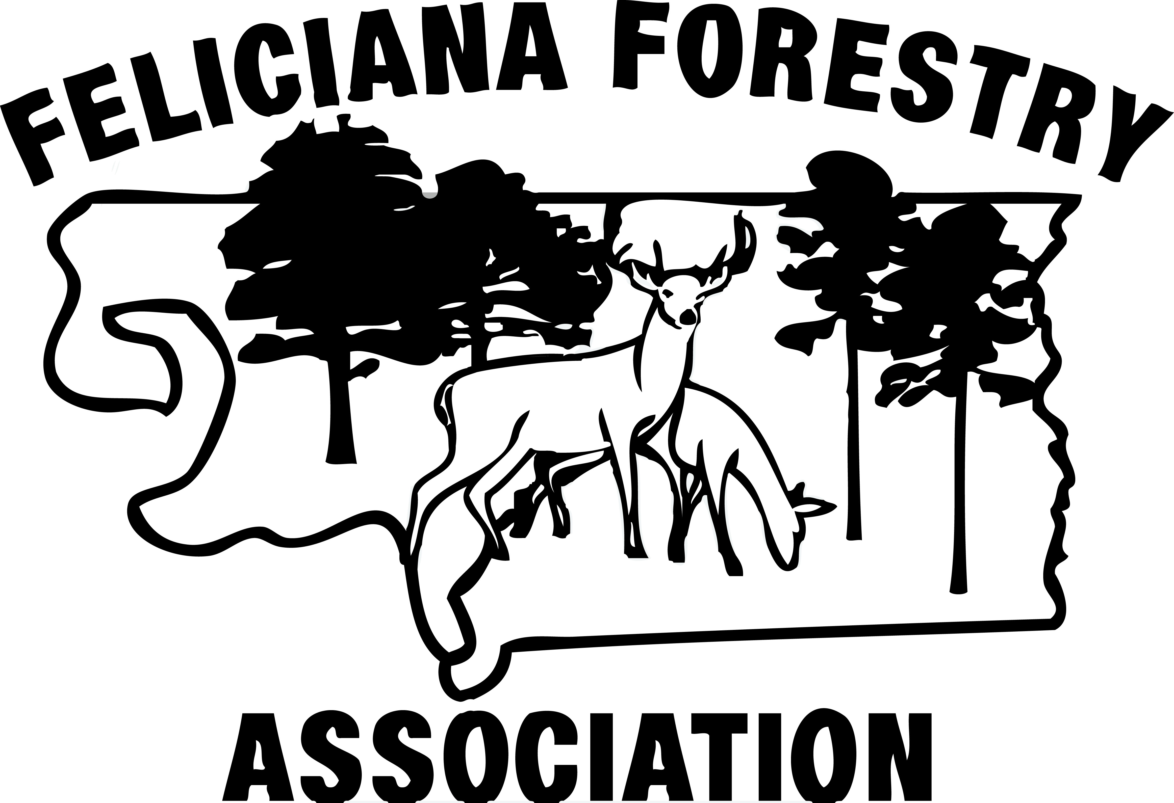 Feliciana Forestry Association Logo