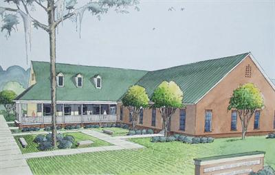 January 2006:  Louisiana 4-H Museum Architectural Rendering