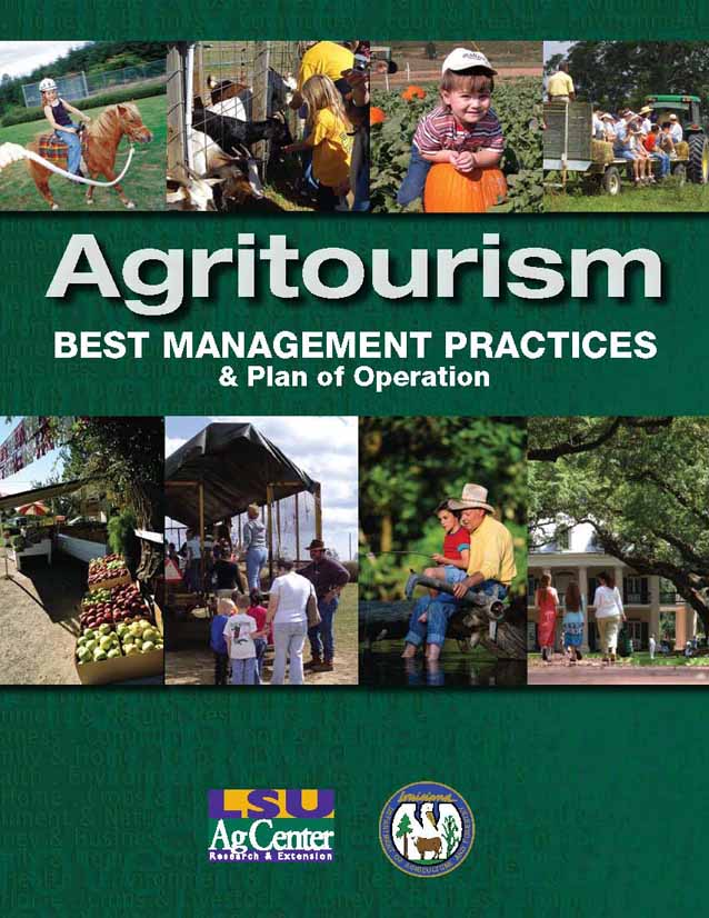 Agritourism Best Management Practices and Plan of Operation