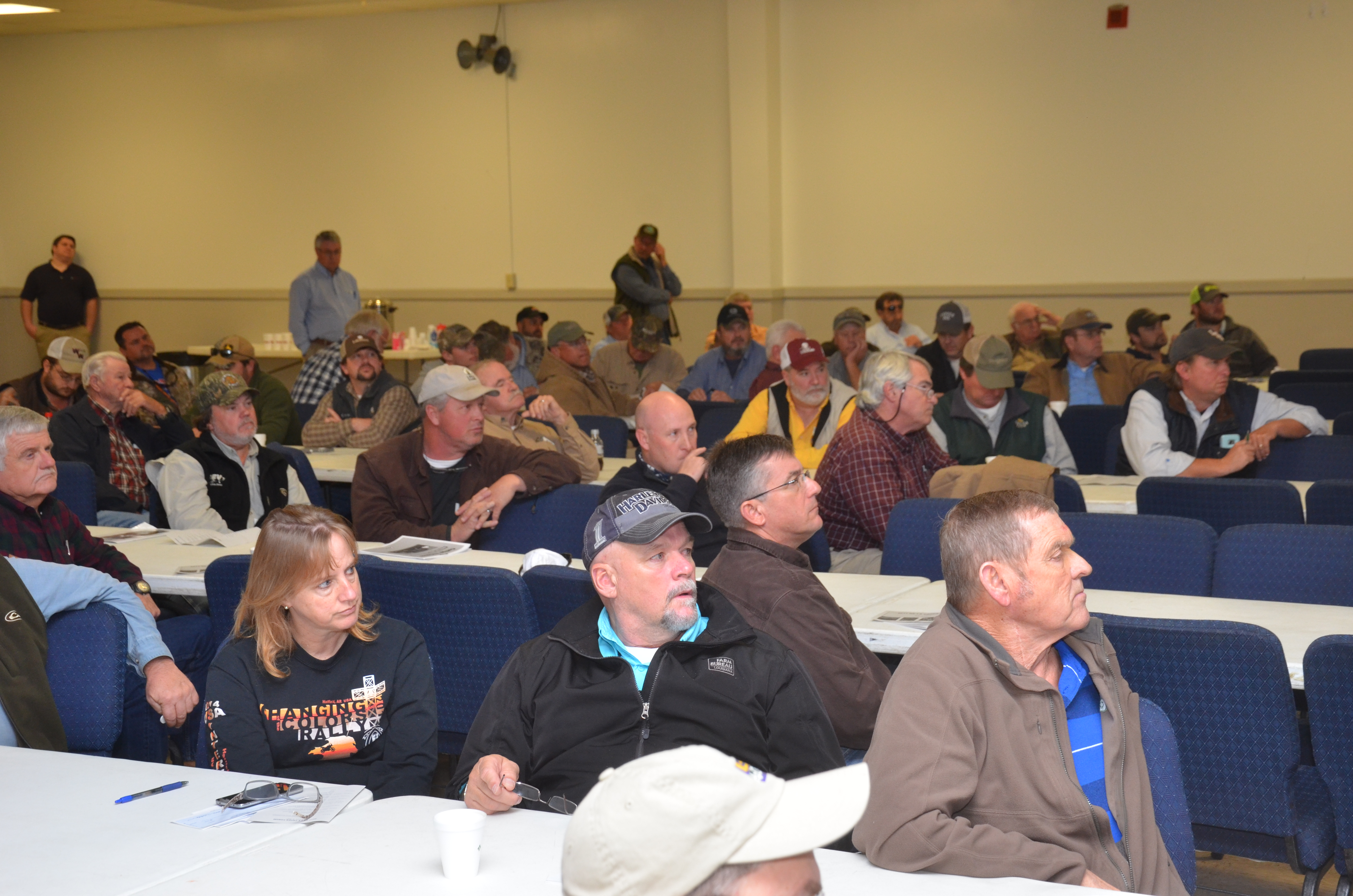 Farmers hear latest crop production information