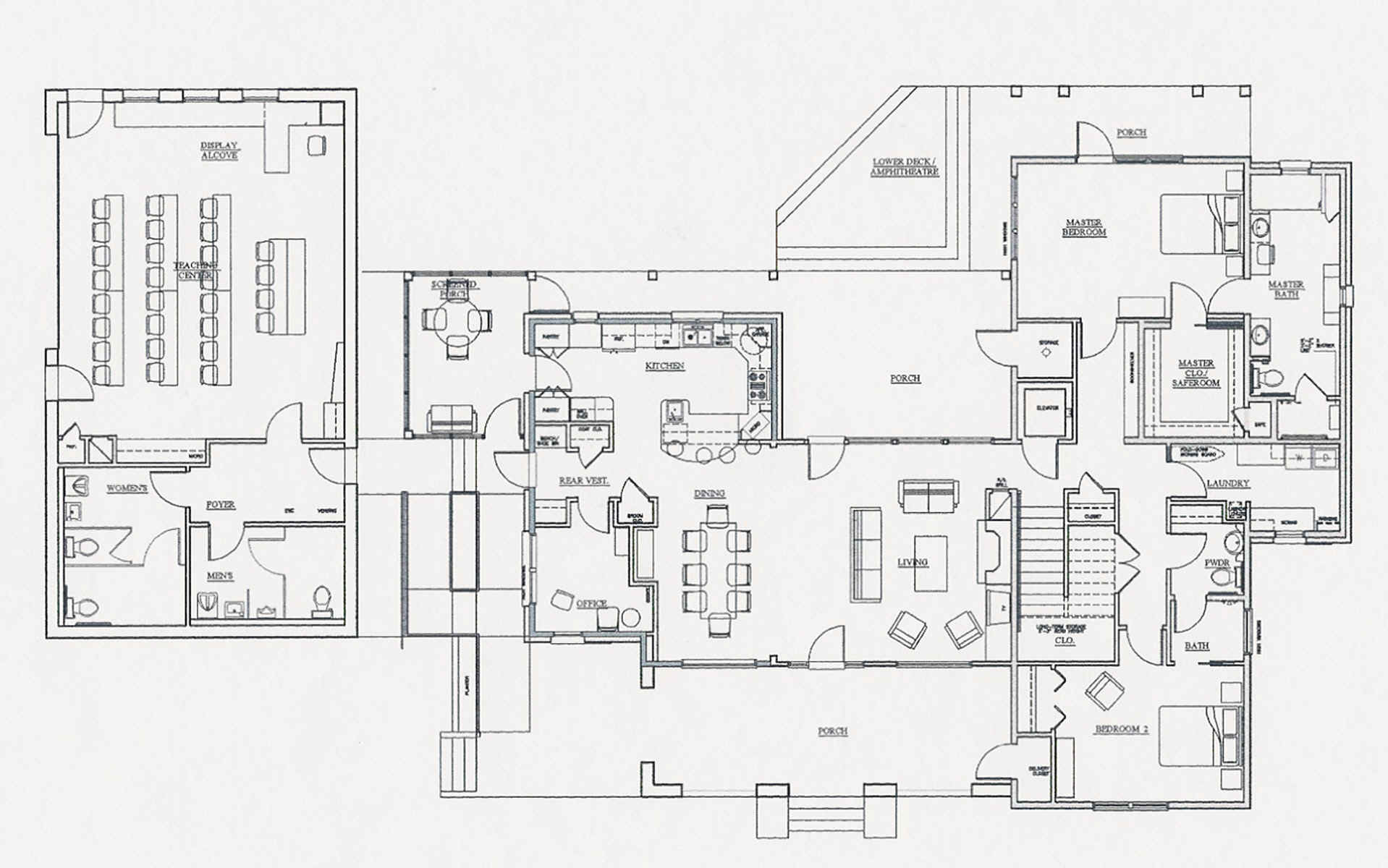 Floor Plans: Louisiana House - Home & Landscape Resource Center