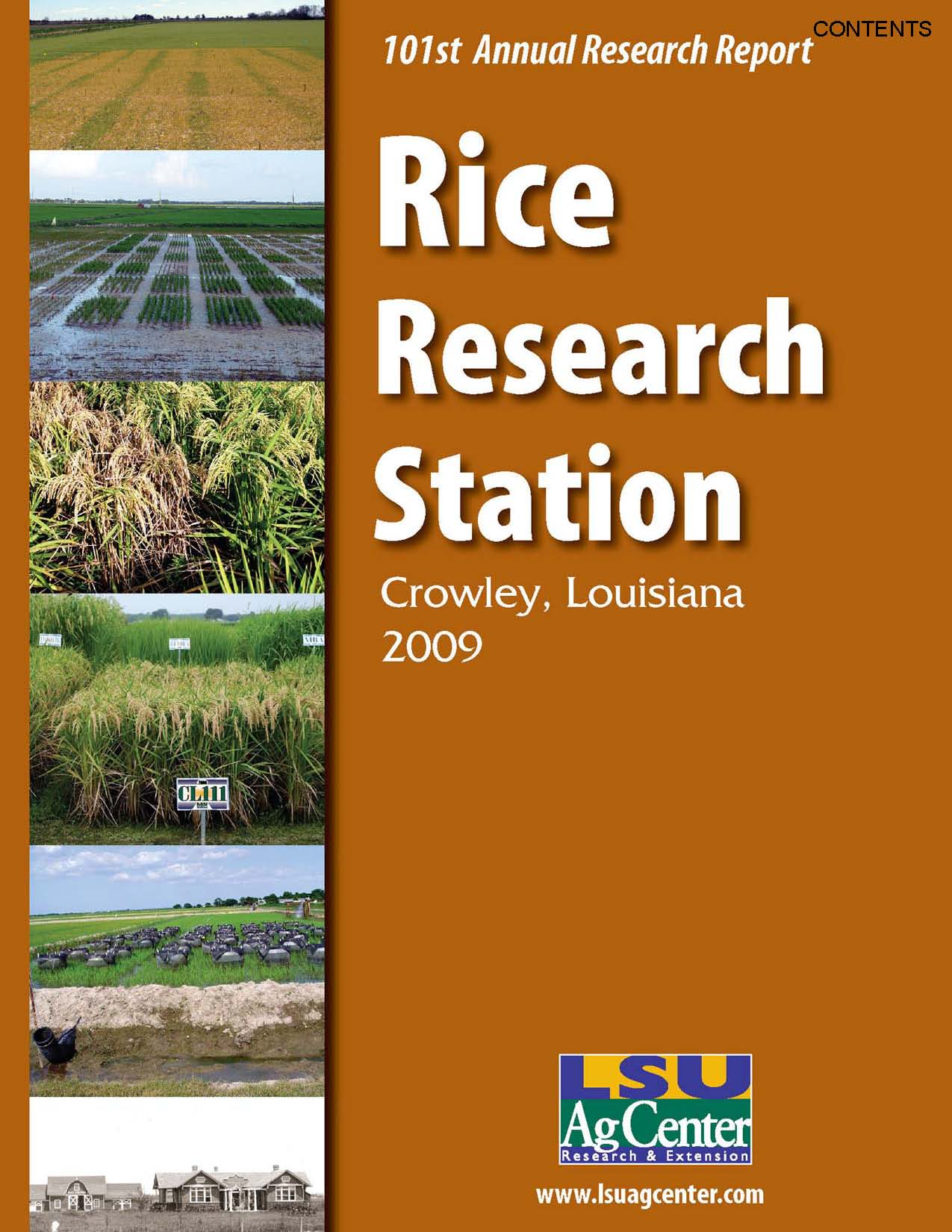 2009 Rice Research Station Annual Report