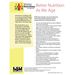 Fact Sheet: Better Nutrition As We Age