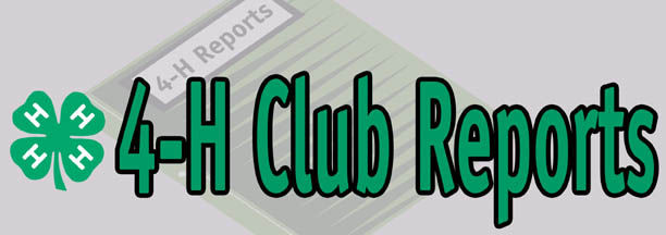 4-H Club-of-the-Month Results