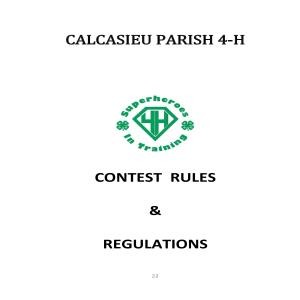 Parish Contests