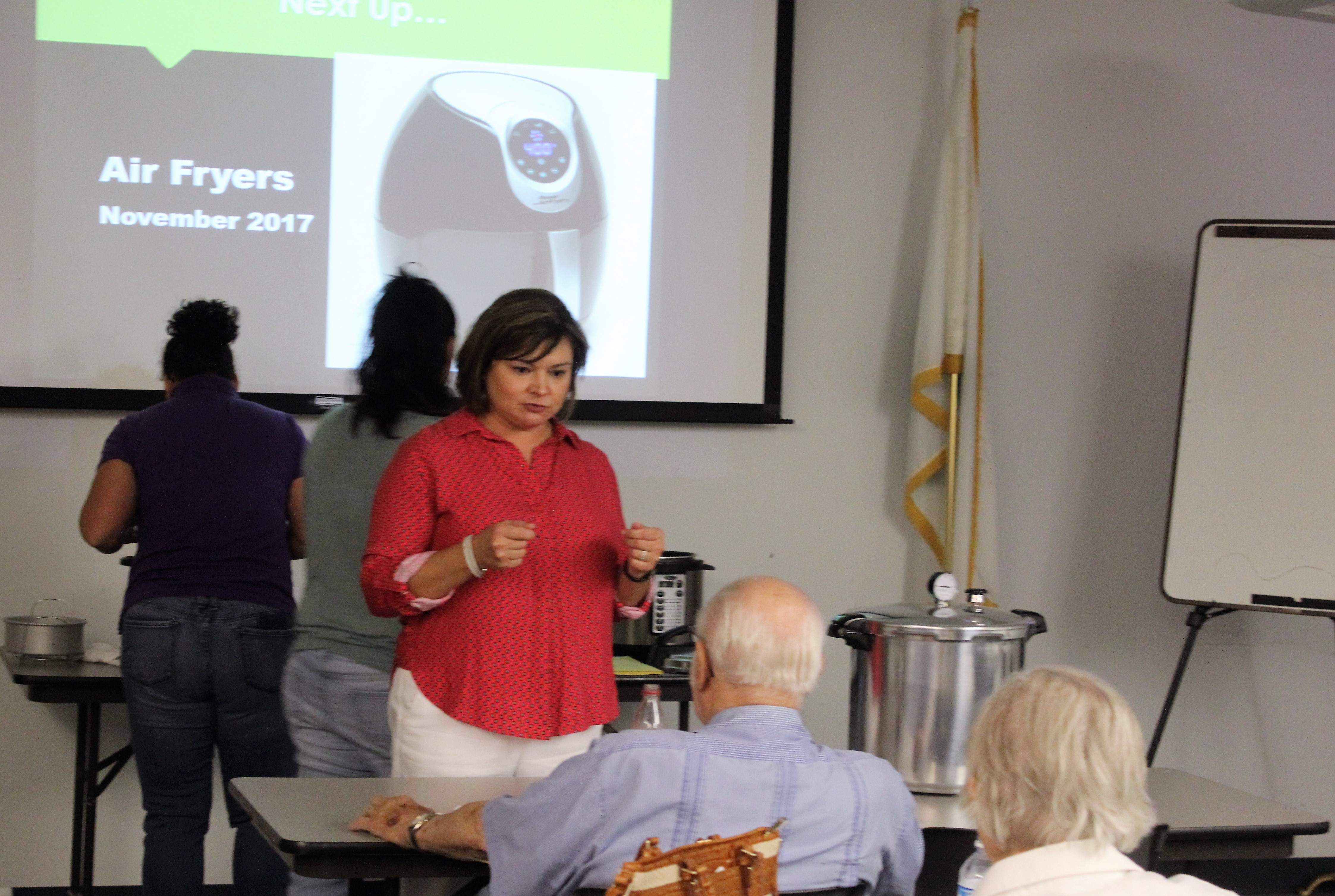 Upcoming workshop on Electric Air fryer