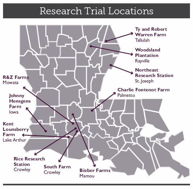 Research Trials Mappng