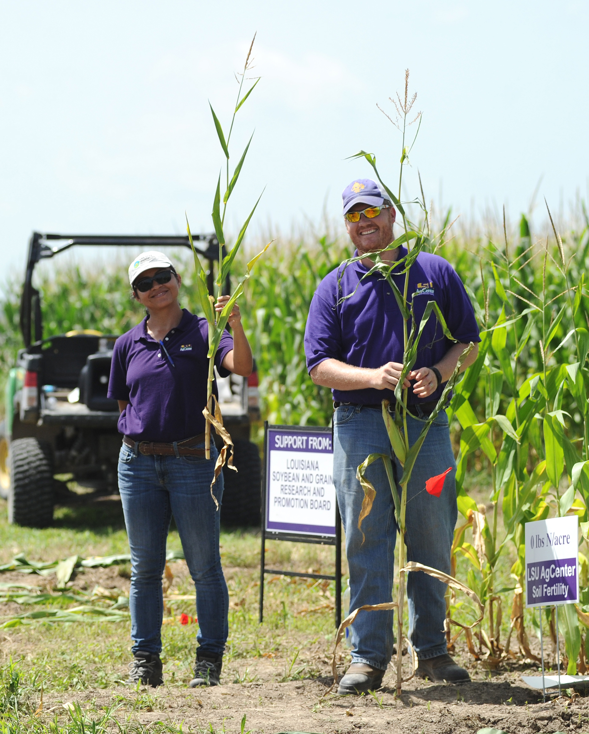 AgCenter experts give farmers advice for the 2015 growing season