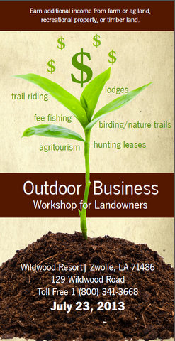 Outdoor Business Workshop for Landowners: 2013