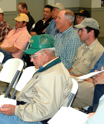 Farmers attending workshop on options after storms