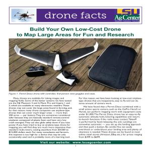 Build Your Own Low-Cost Drone to Map Large Areas for Fun and Research