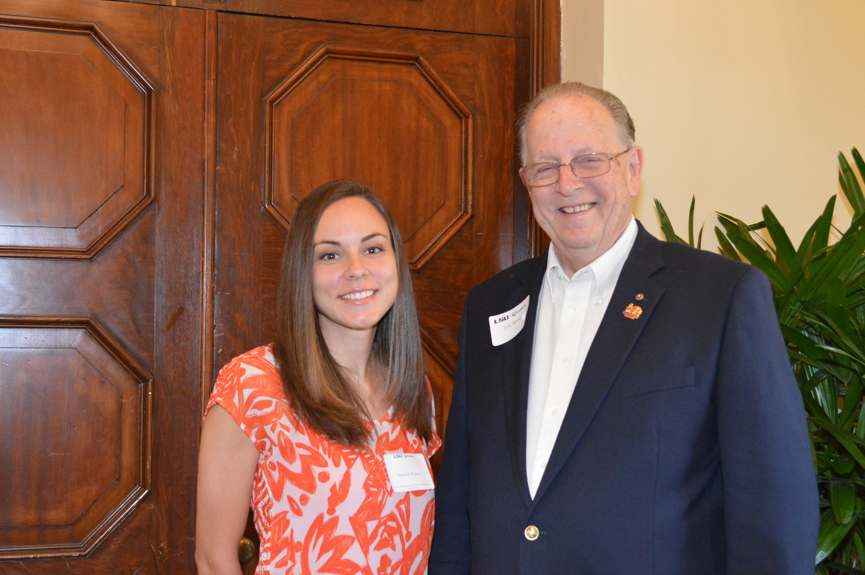 LSU College of Agriculture recognizes scholarship recipients, donors