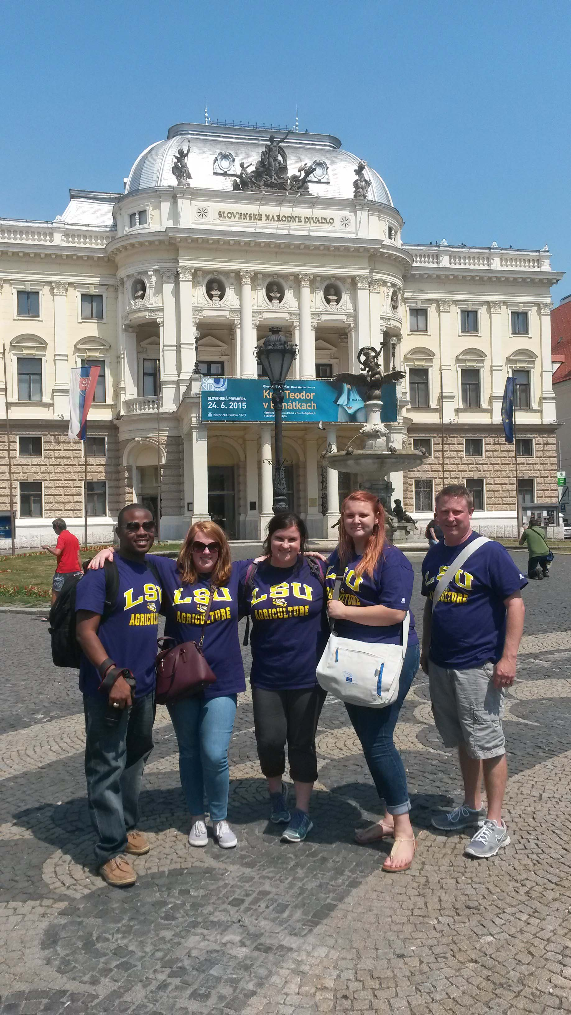 Agricultural Education students travel to Europe, gain international experience