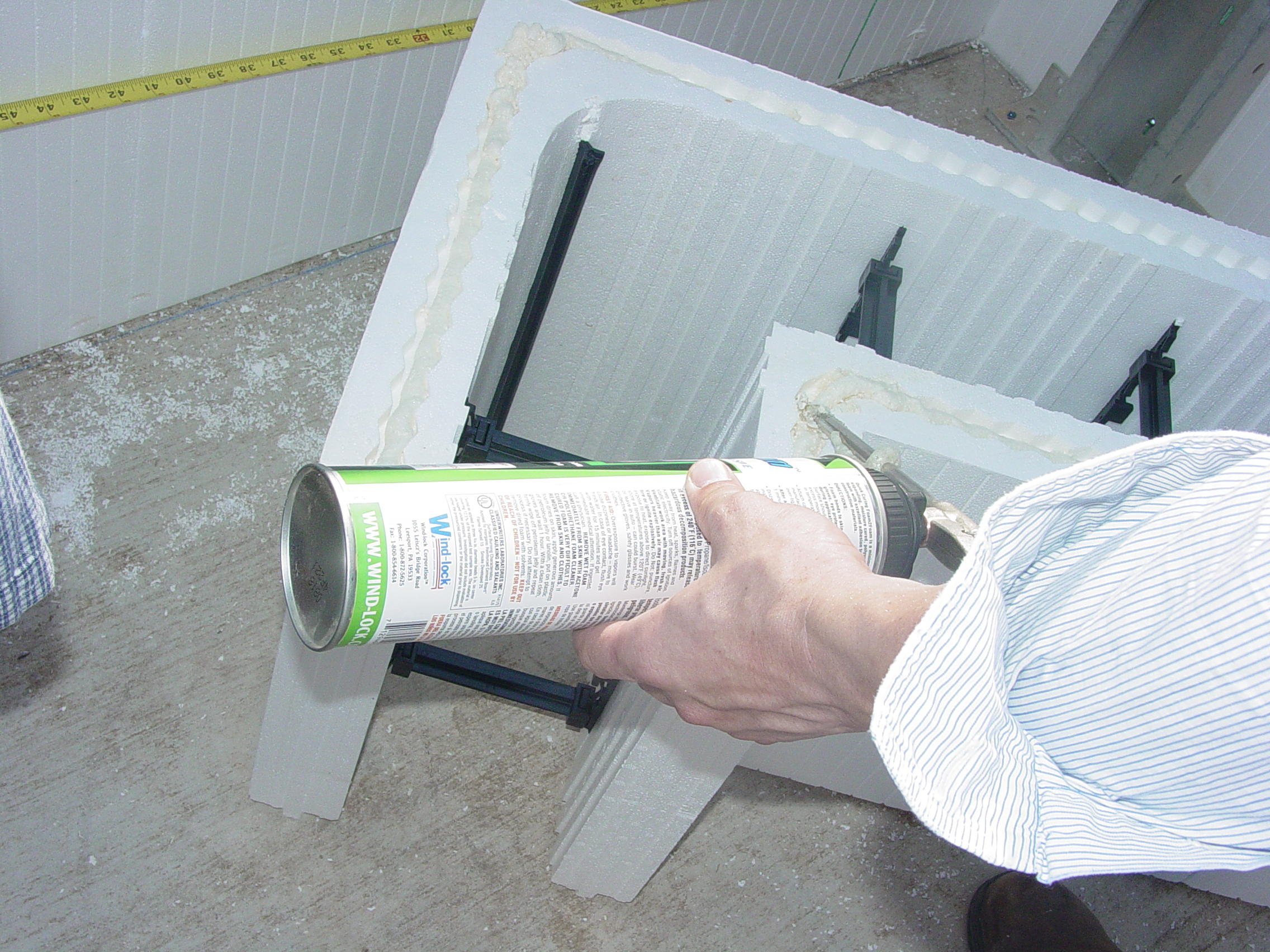 Insulating Concrete Form (ICF) Building System #2