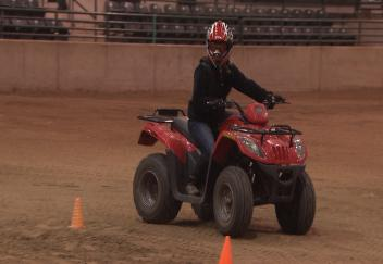 4-H agents prepare for ATV safety training