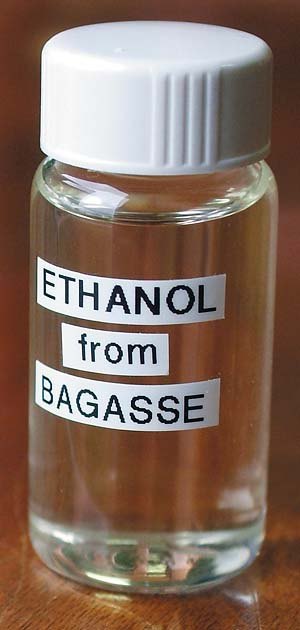Ethonal from bagasse