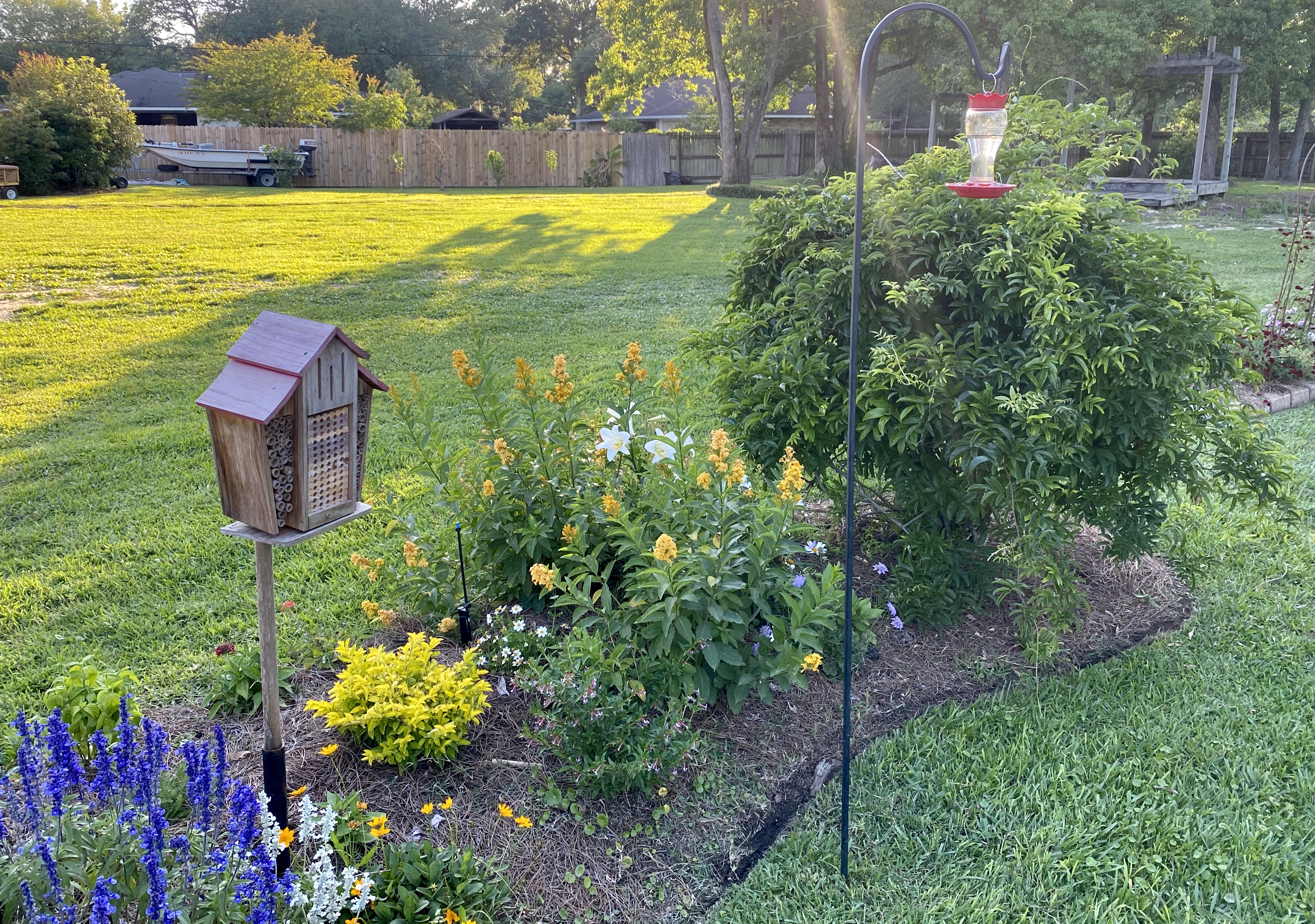 Bee house and hummingbird feeder.jpg thumbnail