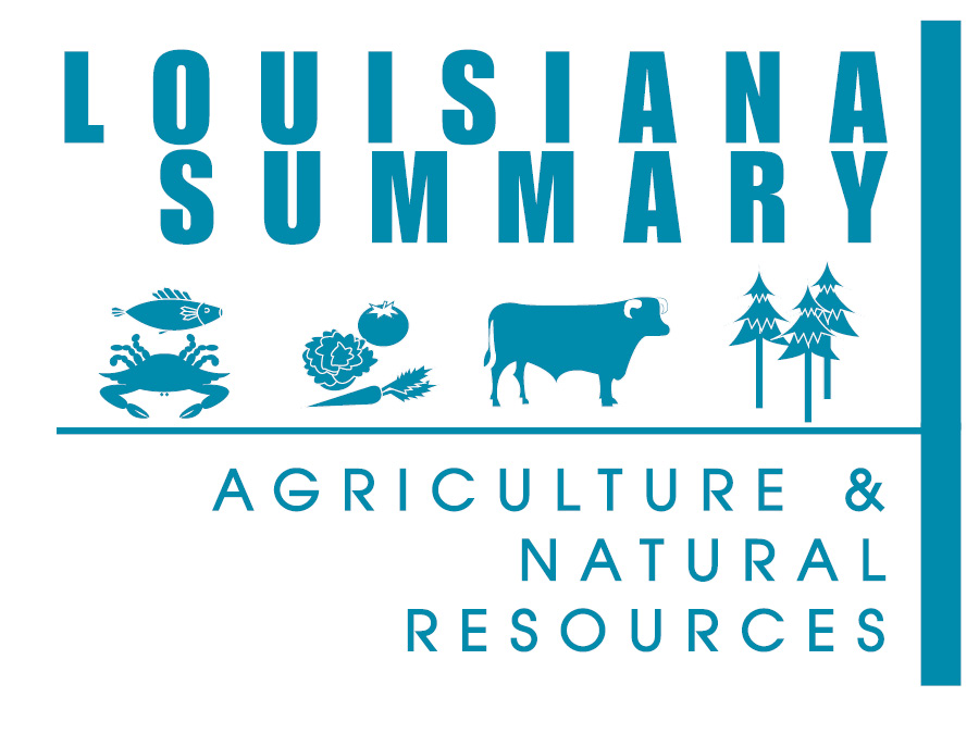 2015 Louisiana Summary: Agriculture and Natural Resources