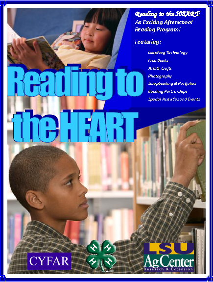 Reading to the HEART Program Flyer