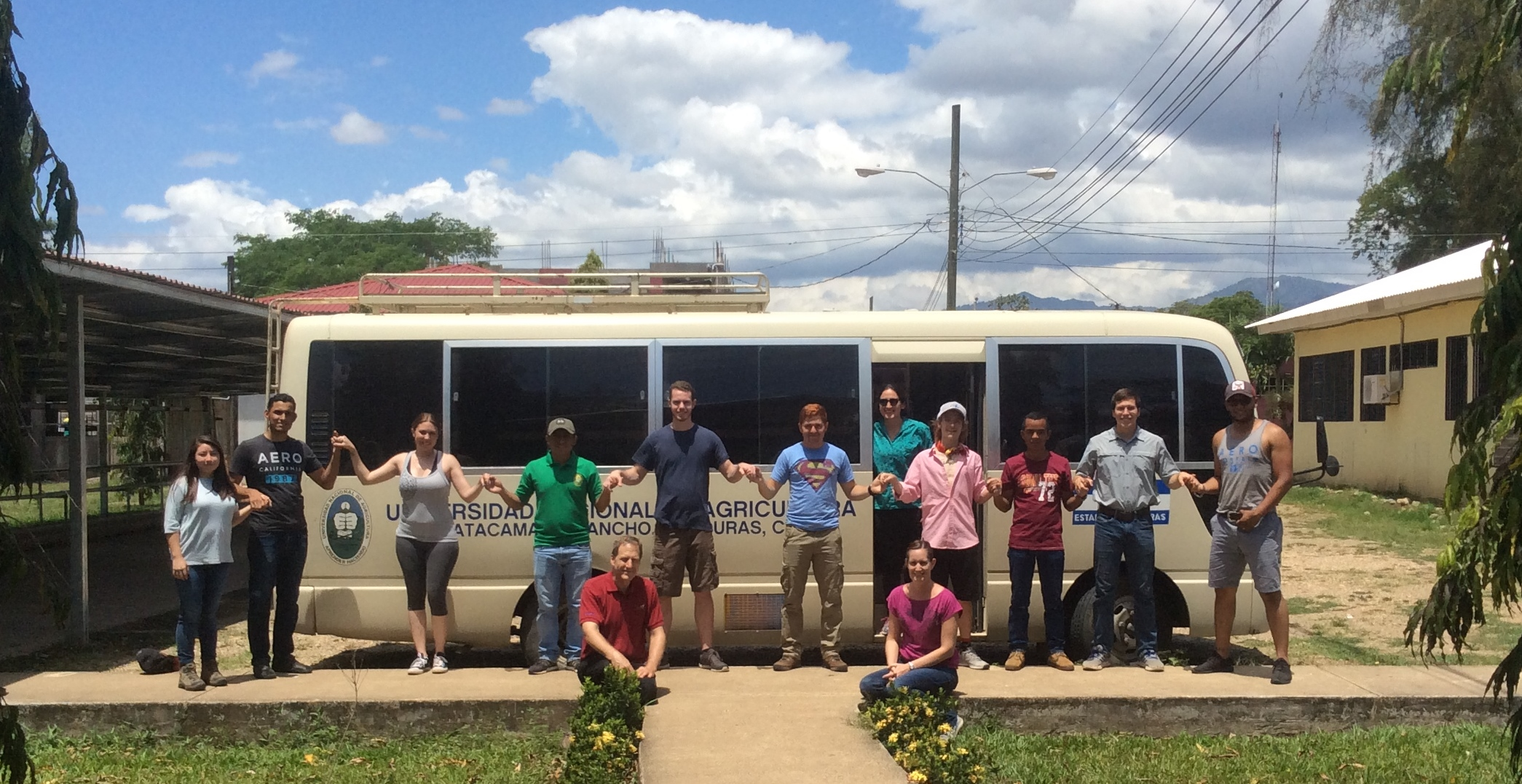 LSU College of Agriculture students study tropical horticulture in Honduras