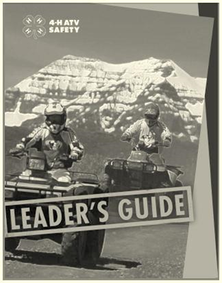 Cover of ATV Safety Leader's Guide
