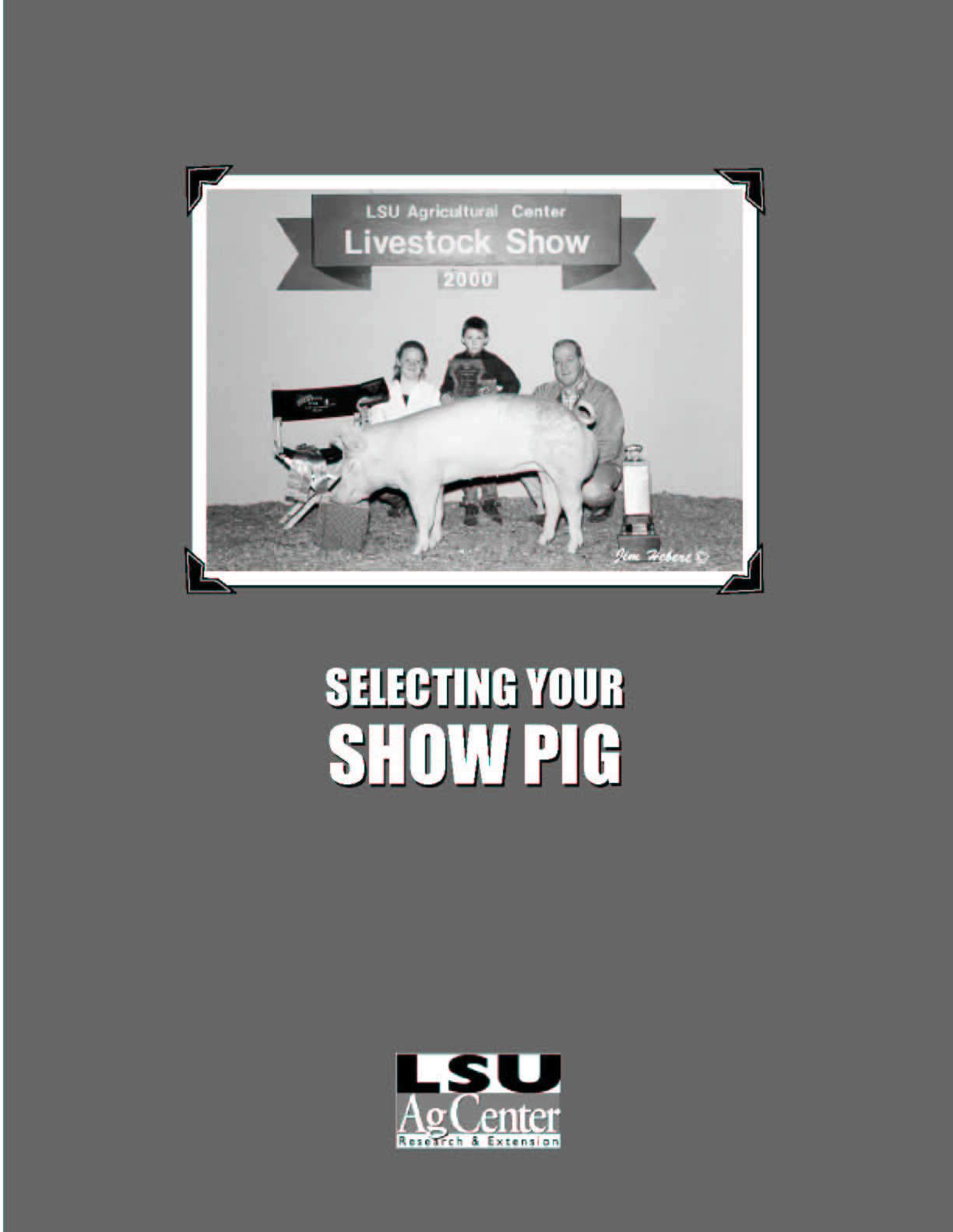 Selecting Your Show Pig