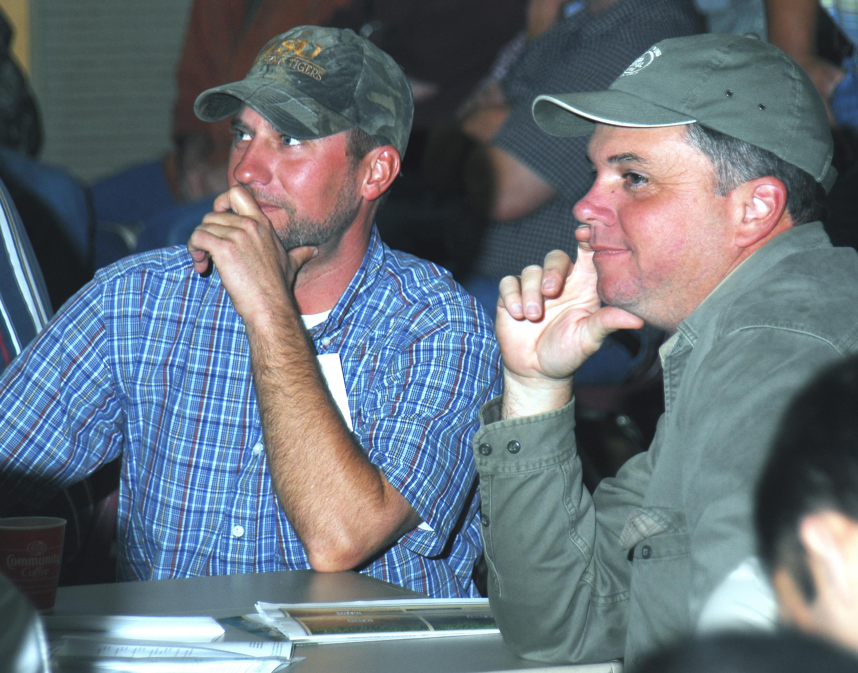 Acadia Parish rice farmers