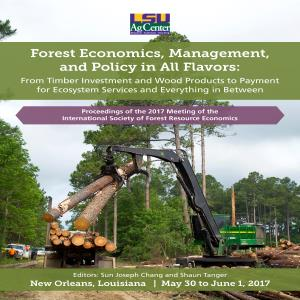 Forest Economics, Management, and Policy in All Flavors: From Timber Investment and Wood Products to Payment for Ecosystem Services and Everything in Between