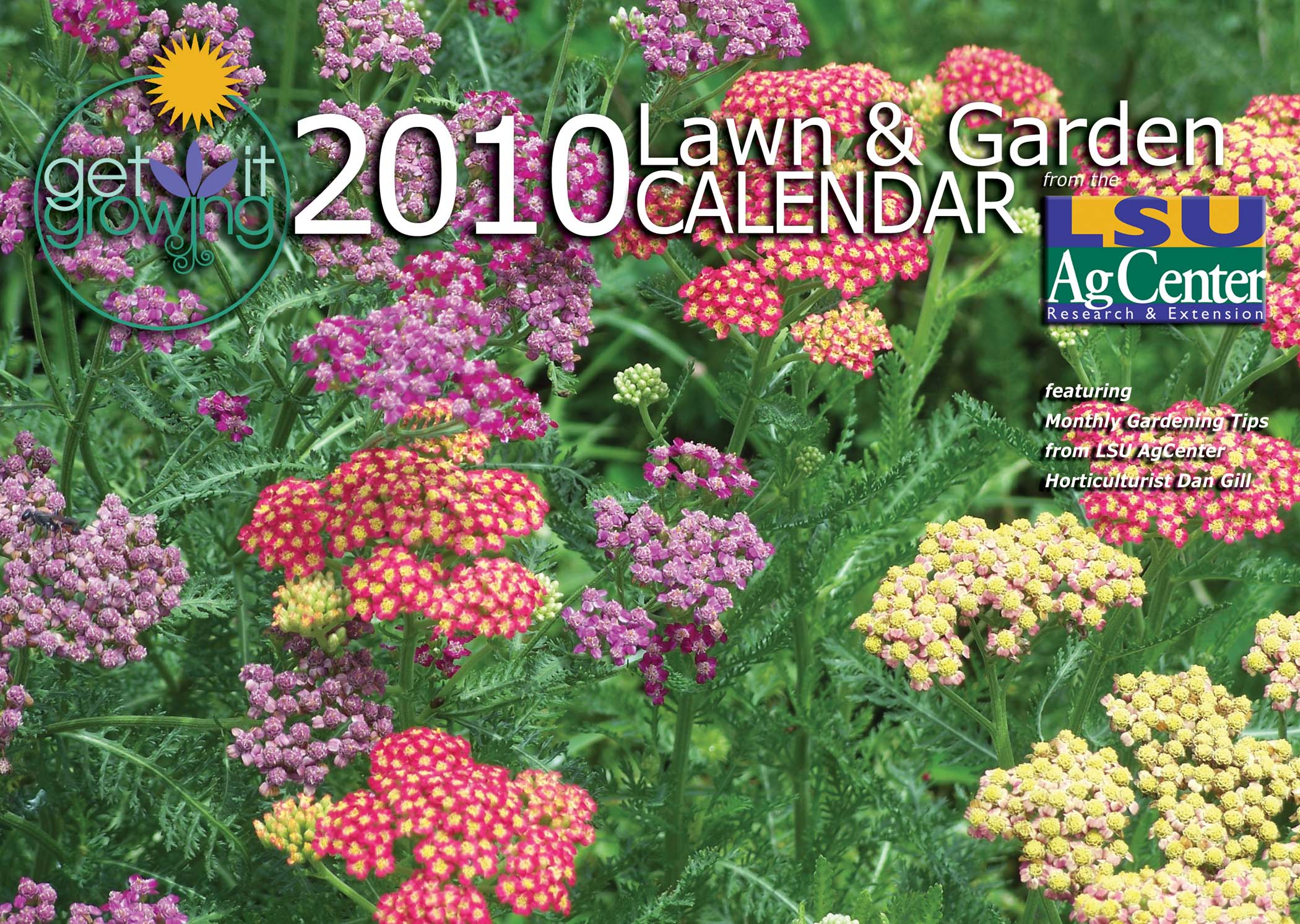 LSU AgCenter's 2010 Get It Growing calendar makes great holiday gift
