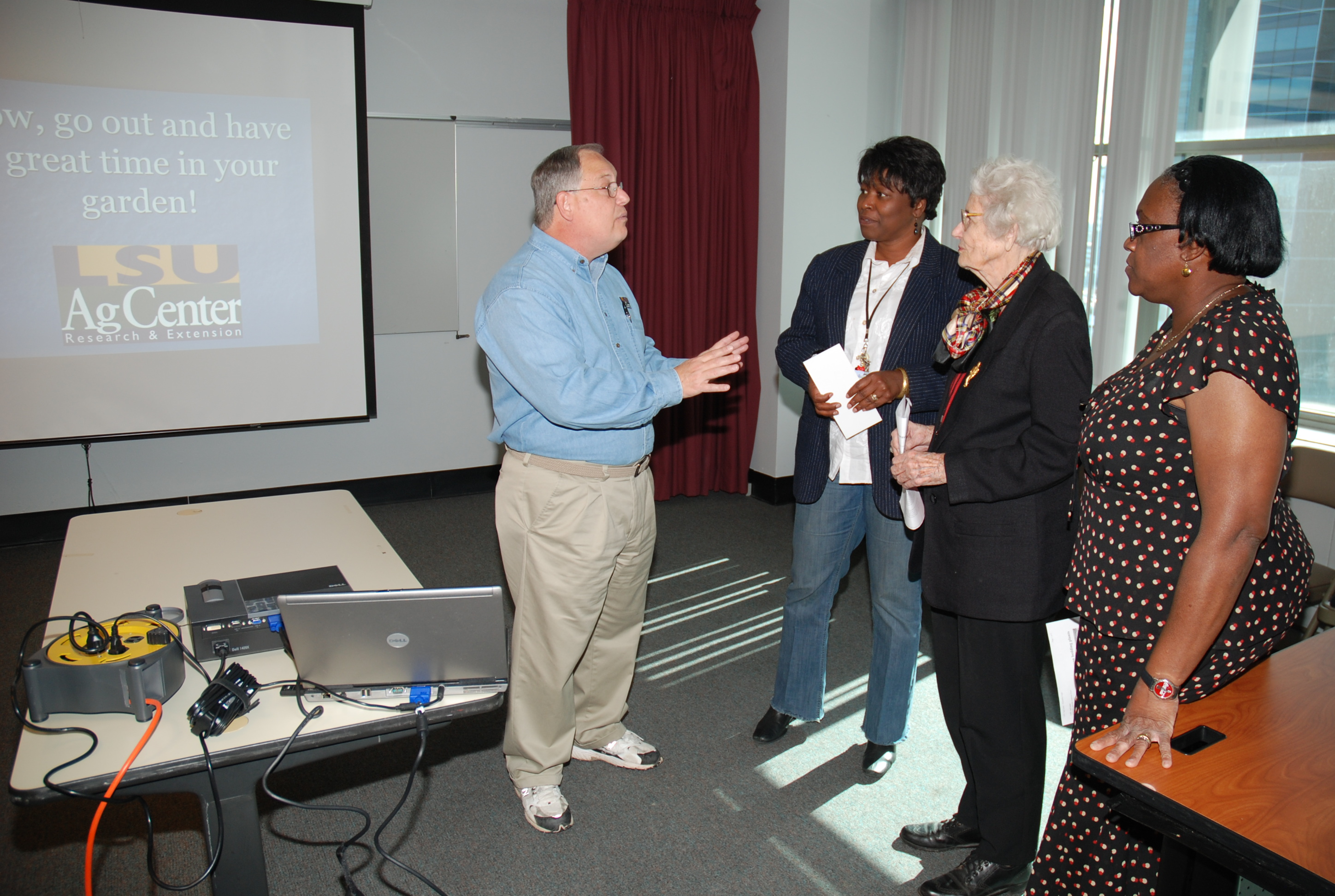 Dan Gill featured at Orleans Parish Lunch and Learn program