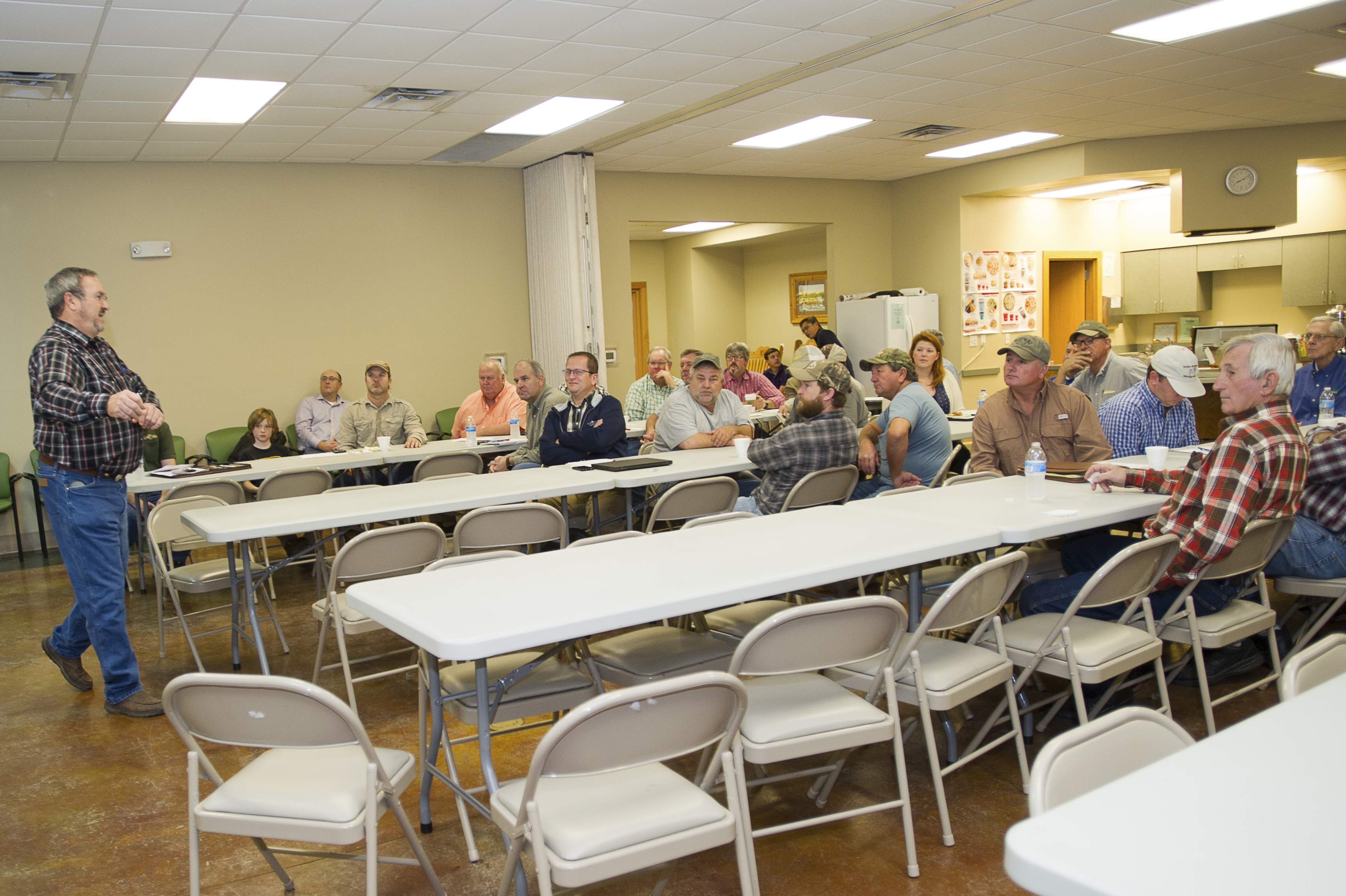 Sweet potato farmers hear updates on industry, LSU AgCenter research