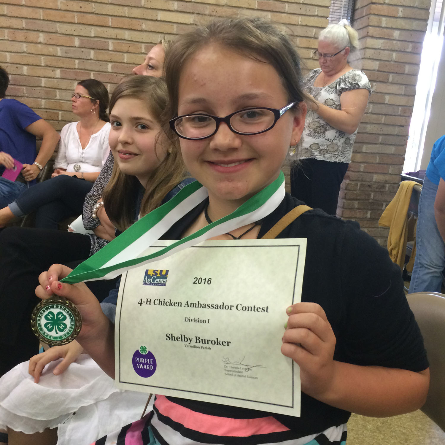 4-H Commodity Ambassador contests name state winners