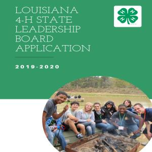 Louisiana 4-H State Leadership Boards