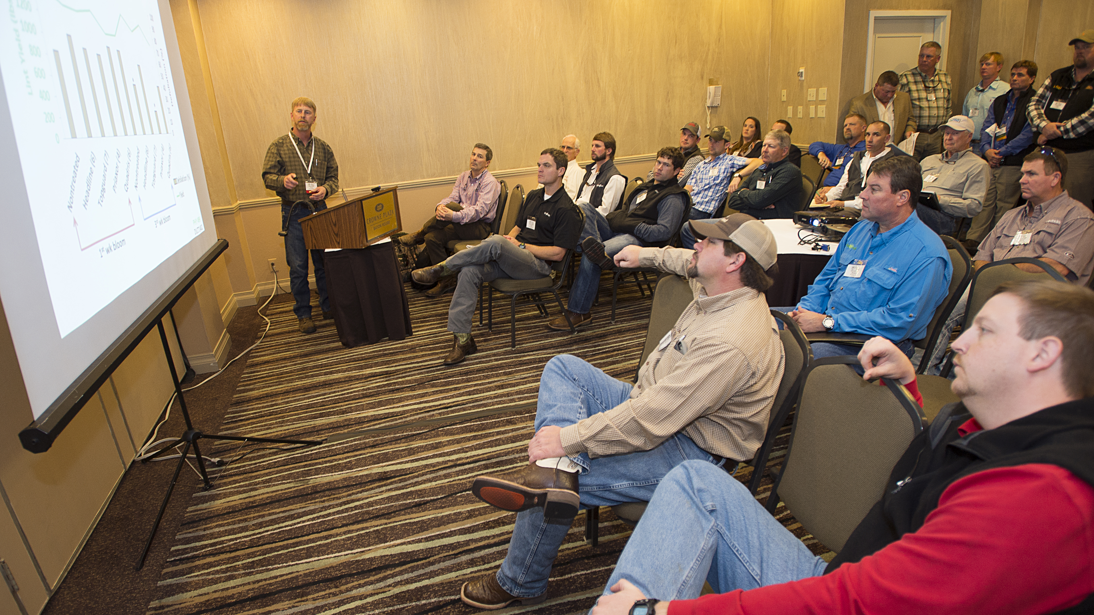 Conservation meeting features LSU AgCenter projects