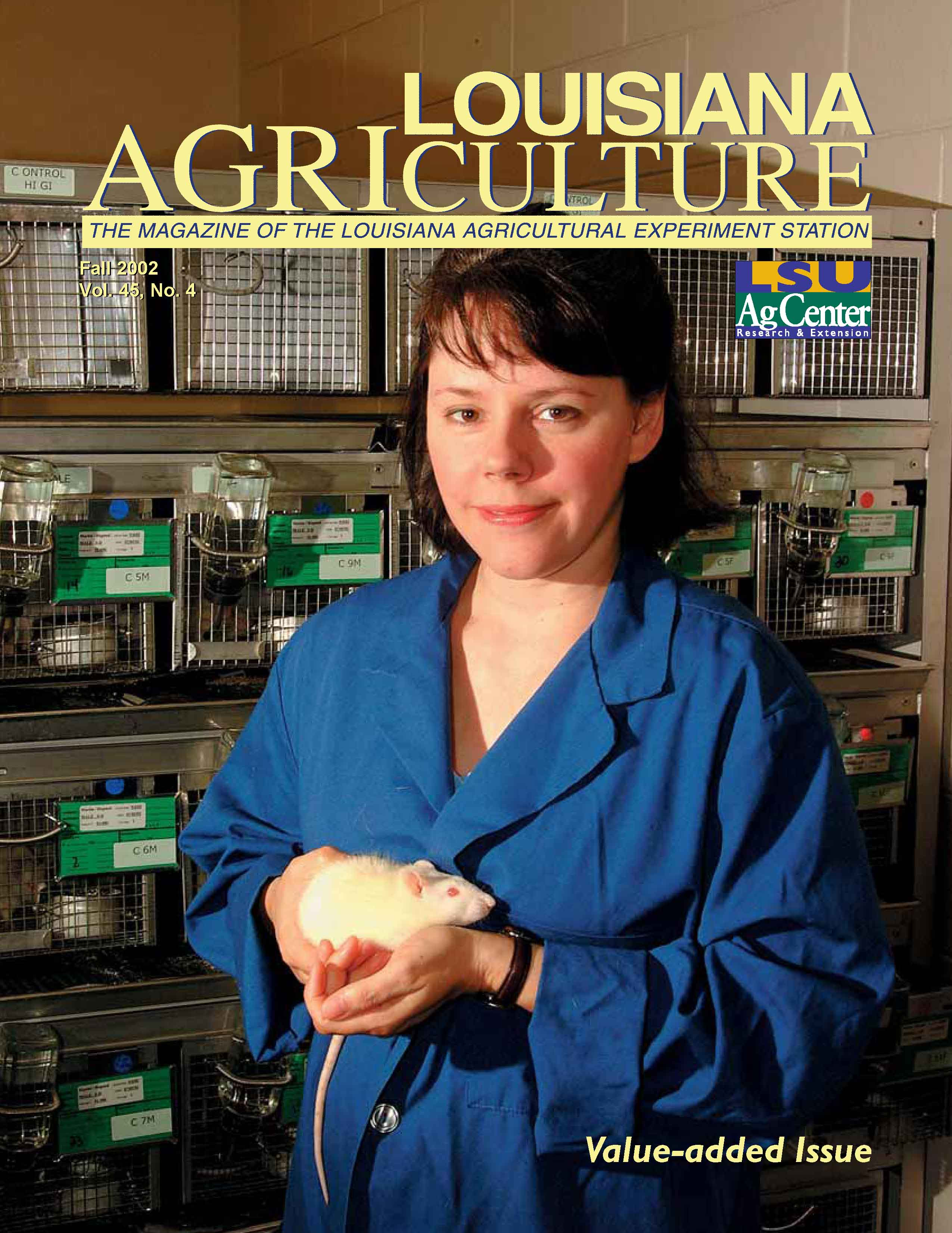 Louisiana Agriculture Magazine Fall 2002