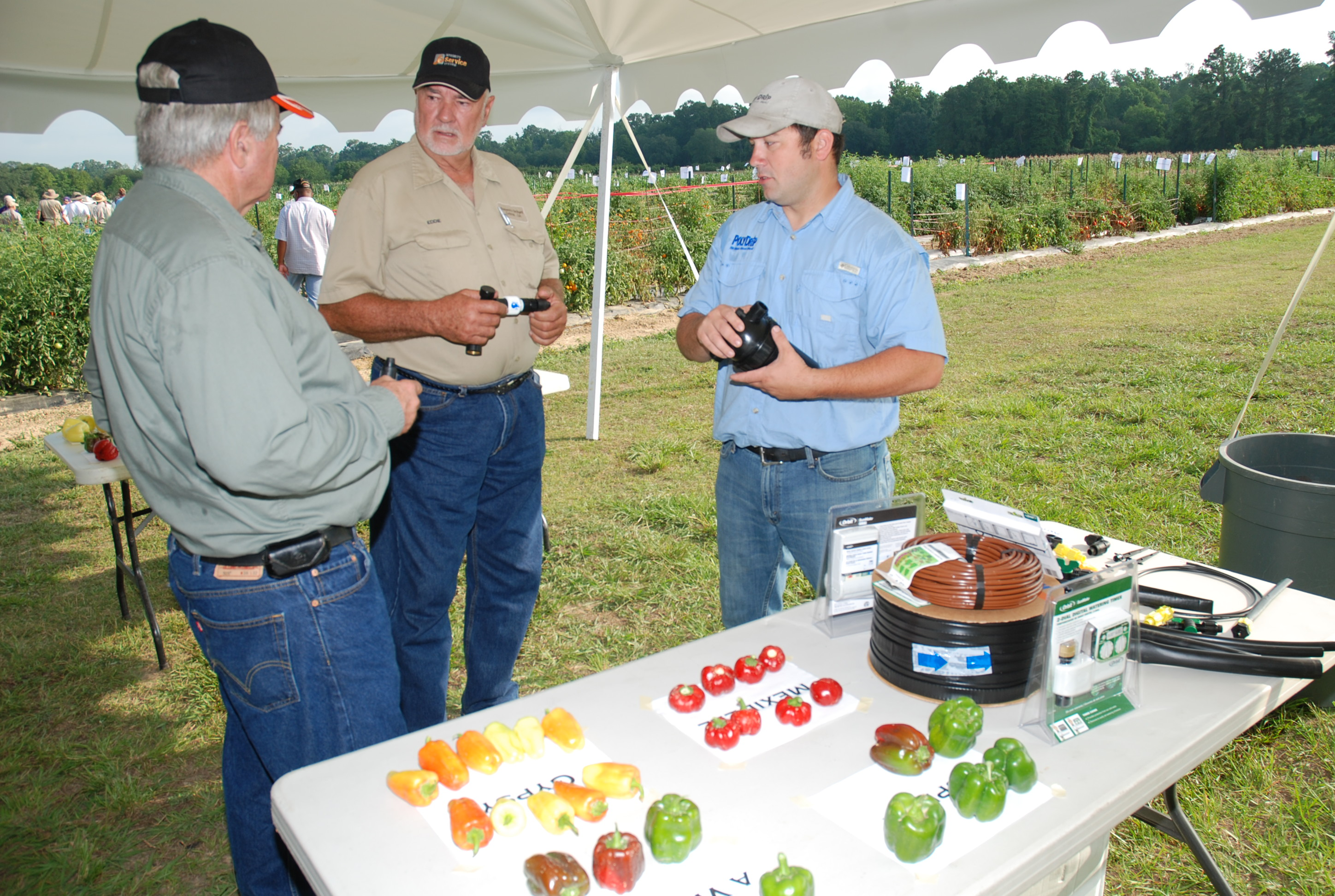 Pictures of Louisiana Fruit and Vegetable Growers Association Events