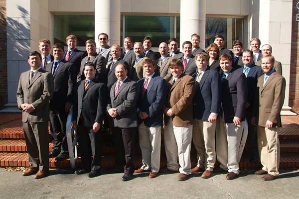 Group Shot of Ag Leadership Class Beginning in 2010