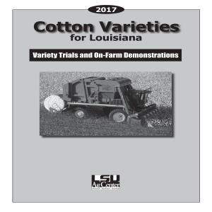 2017 Cotton Varieties for Louisiana