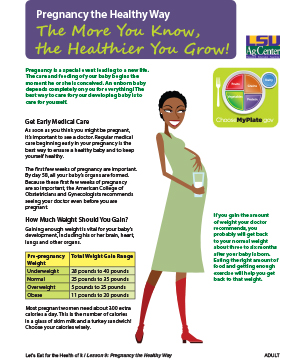 Pregnancy the Healthy Way: The More You Know the Healthier You Grow!