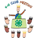 Monthly 4-H Club Meeting Schedule