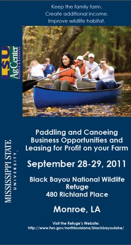 Paddling and Canoeing Workshop for Agritourism Enterprise Development